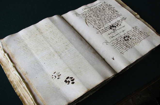 dnews-files-2013-04-Medieval-manuscript-with-paw-prints-660x433-jpg